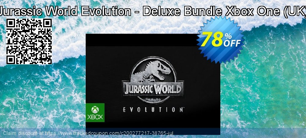 Jurassic World Evolution - Deluxe Bundle Xbox One - UK  coupon on Egg Day discounts