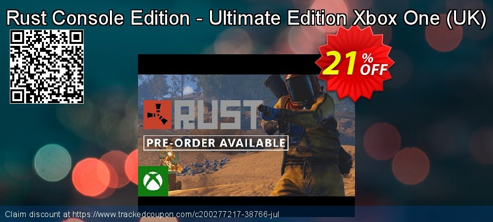 Rust Console Edition - Ultimate Edition Xbox One - UK  coupon on World Bicycle Day promotions