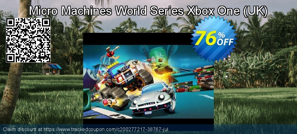 Micro Machines World Series Xbox One - UK  coupon on Social Media Day sales