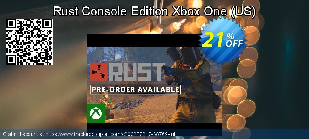 Rust Console Edition Xbox One - US  coupon on National Kissing Day offer