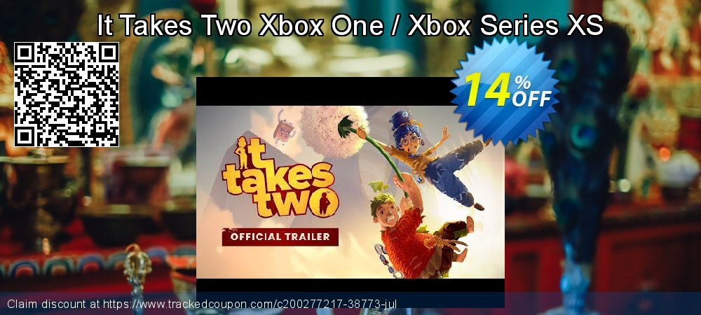 It Takes Two Xbox One / Xbox Series XS coupon on Summer super sale