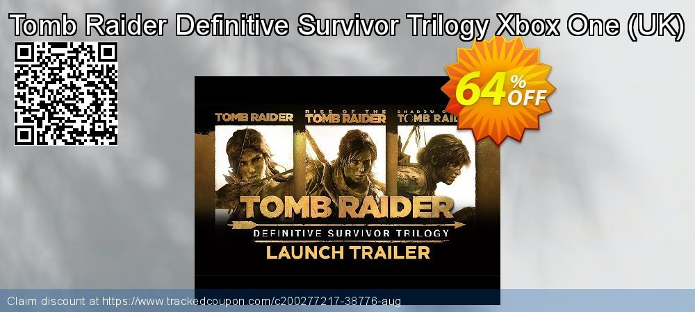 Tomb Raider Definitive Survivor Trilogy Xbox One - UK  coupon on World Bicycle Day sales