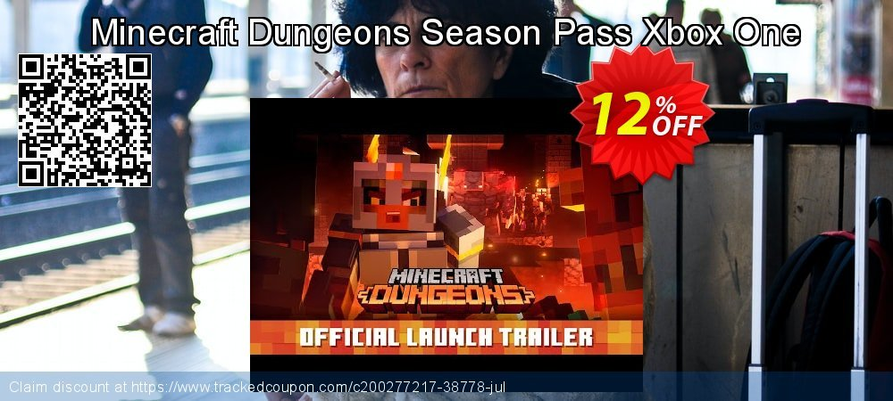 Minecraft Dungeons Season Pass Xbox One coupon on Egg Day offer