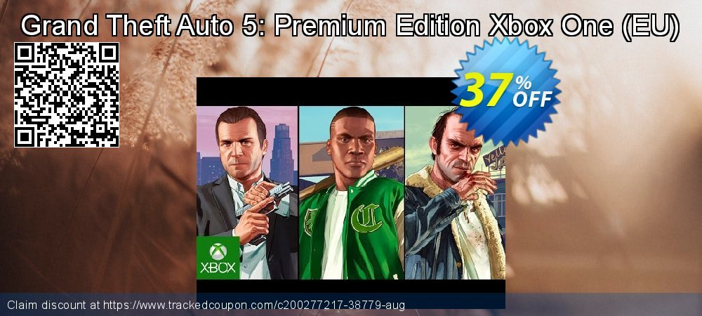 Grand Theft Auto 5: Premium Edition Xbox One - EU  coupon on World Bicycle Day discount