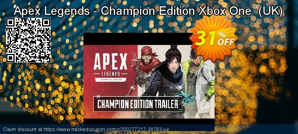 Apex Legends - Champion Edition Xbox One  - UK  coupon on World Day of Music discounts
