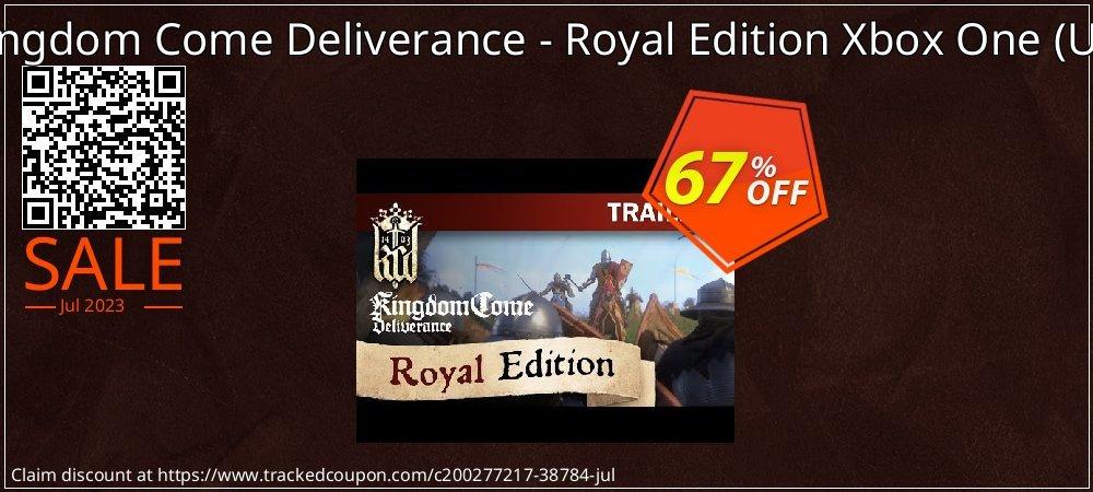 Kingdom Come Deliverance - Royal Edition Xbox One - UK  coupon on Hug Holiday promotions