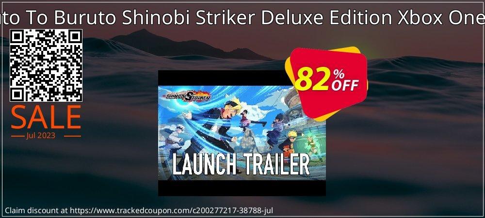 Naruto To Buruto Shinobi Striker Deluxe Edition Xbox One - UK  coupon on National Cheese Day discount