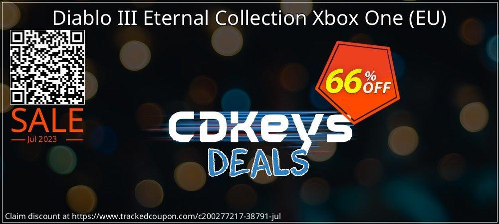 Diablo III Eternal Collection Xbox One - EU  coupon on Egg Day super sale