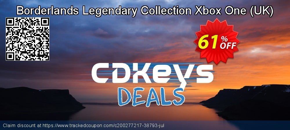 Borderlands Legendary Collection Xbox One - UK  coupon on Social Media Day promotions