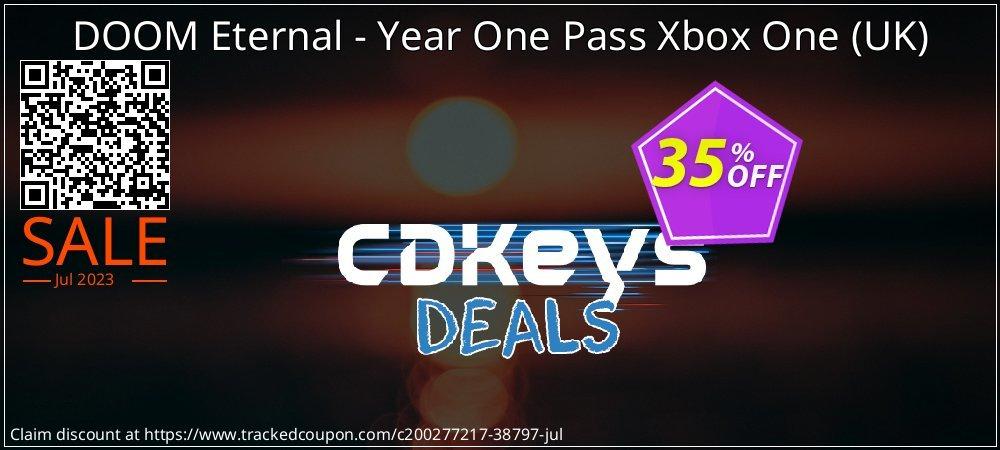 DOOM Eternal - Year One Pass Xbox One - UK  coupon on Hug Holiday discount