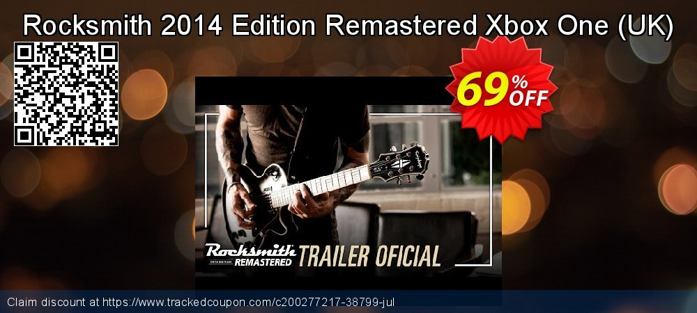 Rocksmith 2014 Edition Remastered Xbox One - UK  coupon on Summer offering sales