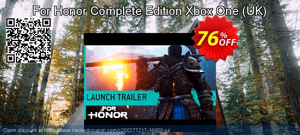 For Honor Complete Edition Xbox One - UK  coupon on Father's Day super sale