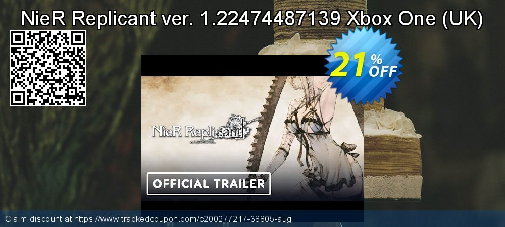 NieR Replicant ver. 1.22474487139 Xbox One - UK  coupon on World Bicycle Day offer