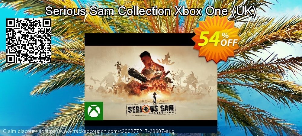 Serious Sam Collection Xbox One - UK  coupon on World Oceans Day offering discount