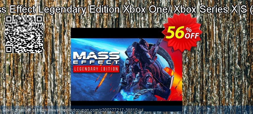Mass Effect Legendary Edition Xbox One/ Xbox Series X S - US  coupon on Hug Holiday discounts