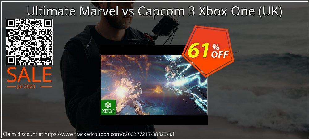 Ultimate Marvel vs Capcom 3 Xbox One - UK  coupon on Hug Holiday offer