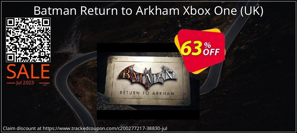 Batman Return to Arkham Xbox One - UK  coupon on Egg Day sales