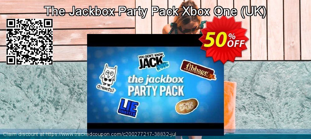 The Jackbox Party Pack Xbox One - UK  coupon on Social Media Day offer