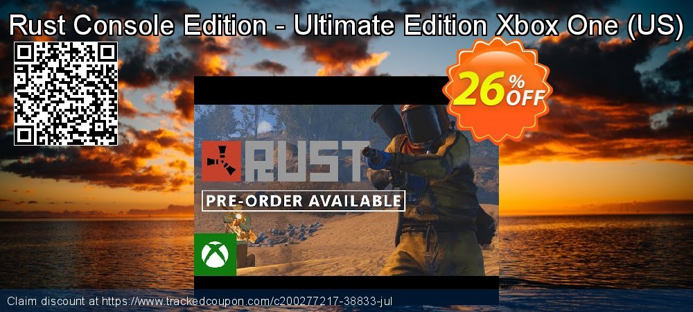Rust Console Edition - Ultimate Edition Xbox One - US  coupon on World Oceans Day discount