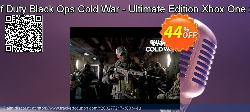 Call of Duty Black Ops Cold War - Ultimate Edition Xbox One - WW  coupon on National Kissing Day offering discount