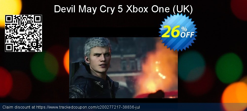 Devil May Cry 5 Xbox One - UK  coupon on Hug Holiday super sale