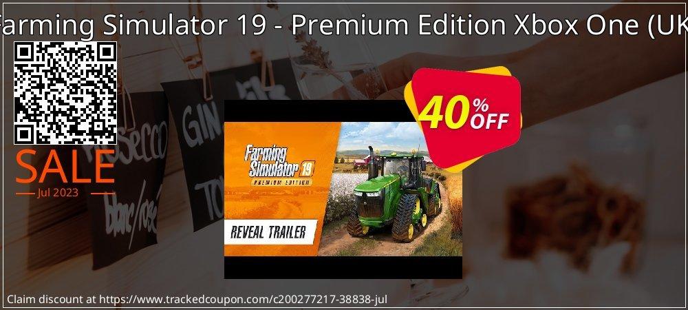 Farming Simulator 19 - Premium Edition Xbox One - UK  coupon on Summer promotions