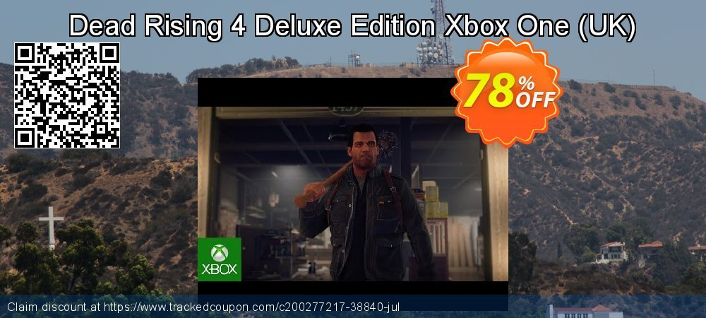 Dead Rising 4 Deluxe Edition Xbox One - UK  coupon on National Cheese Day deals