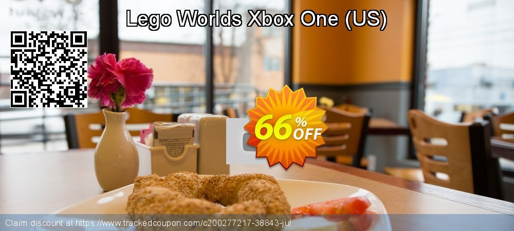 Lego Worlds Xbox One - US  coupon on Egg Day offering discount