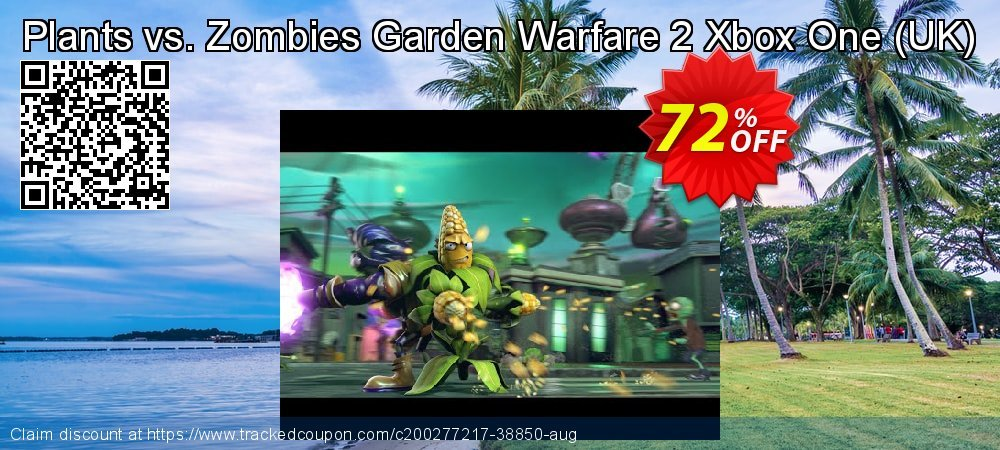 Plants vs. Zombies Garden Warfare 2 Xbox One - UK  coupon on Camera Day offer