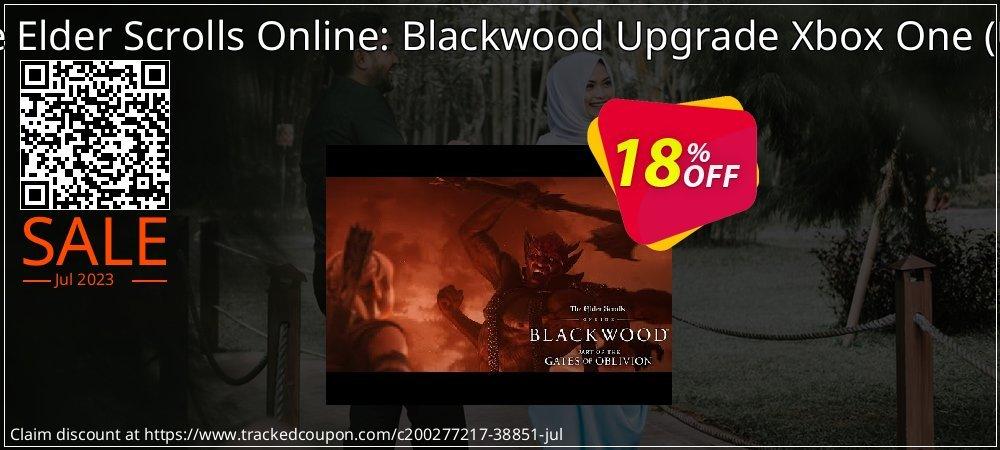 The Elder Scrolls Online: Blackwood Upgrade Xbox One - UK  coupon on Summer discount