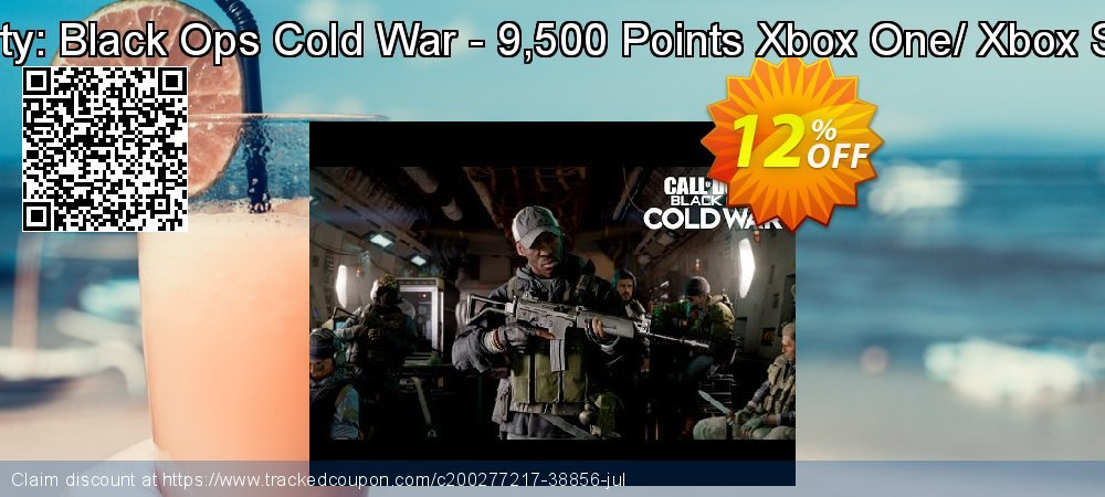 Call of Duty: Black Ops Cold War - 9,500 Points Xbox One/ Xbox Series X|S coupon on Egg Day promotions