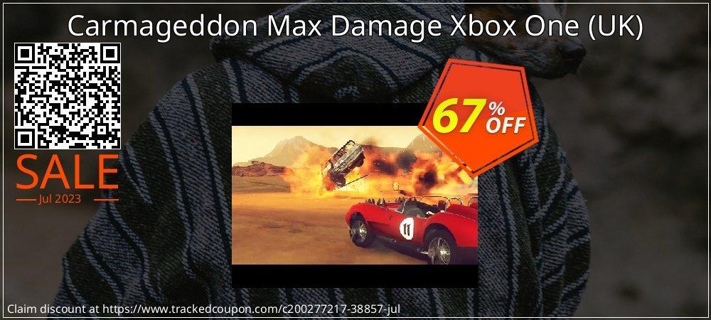 Carmageddon Max Damage Xbox One - UK  coupon on World Bicycle Day sales