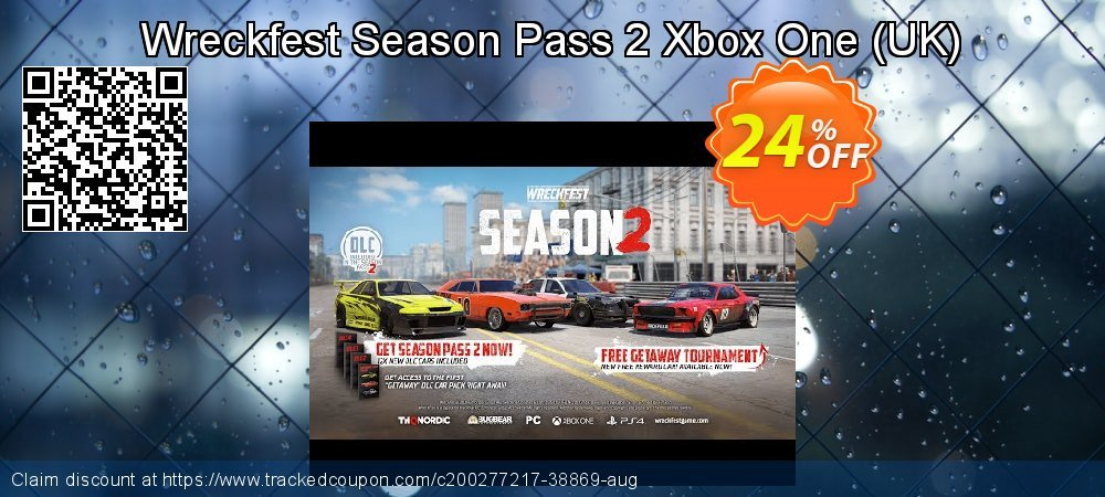 Wreckfest Season Pass 2 Xbox One - UK  coupon on Egg Day discount