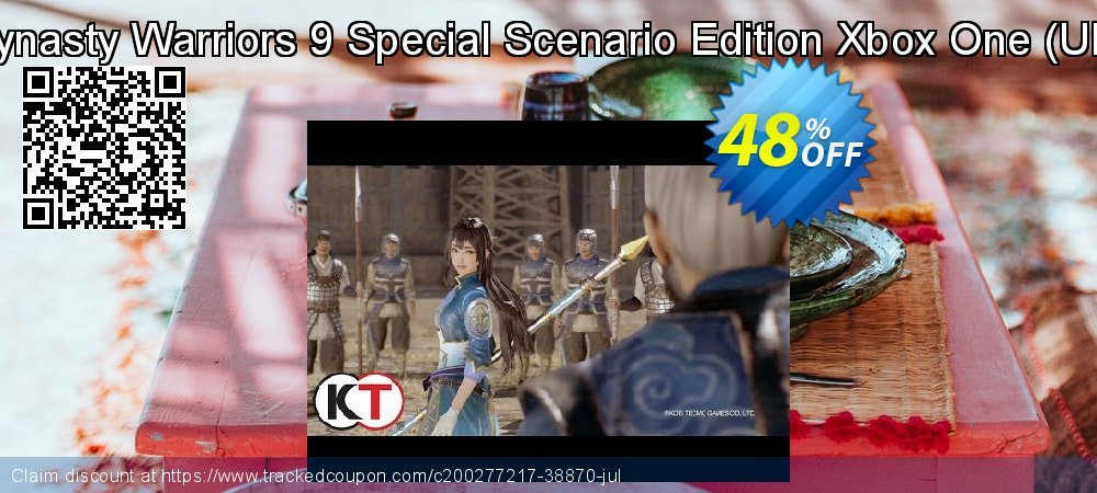 Dynasty Warriors 9 Special Scenario Edition Xbox One - UK  coupon on World Bicycle Day offering discount