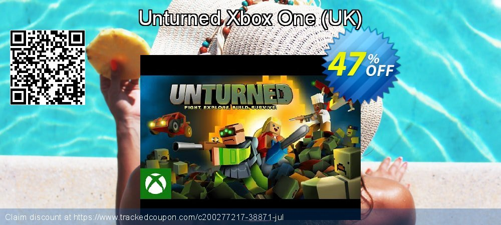 Unturned Xbox One - UK  coupon on Social Media Day offering sales