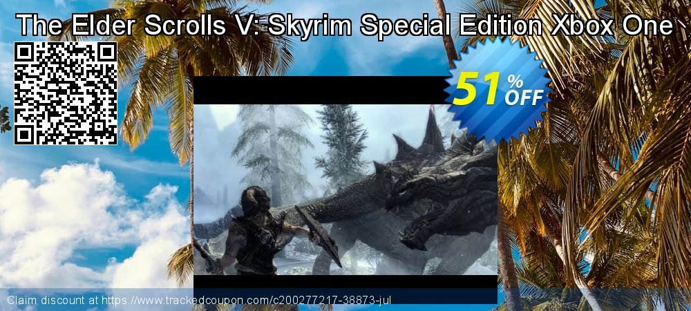 The Elder Scrolls V: Skyrim Special Edition Xbox One coupon on National Kissing Day discounts