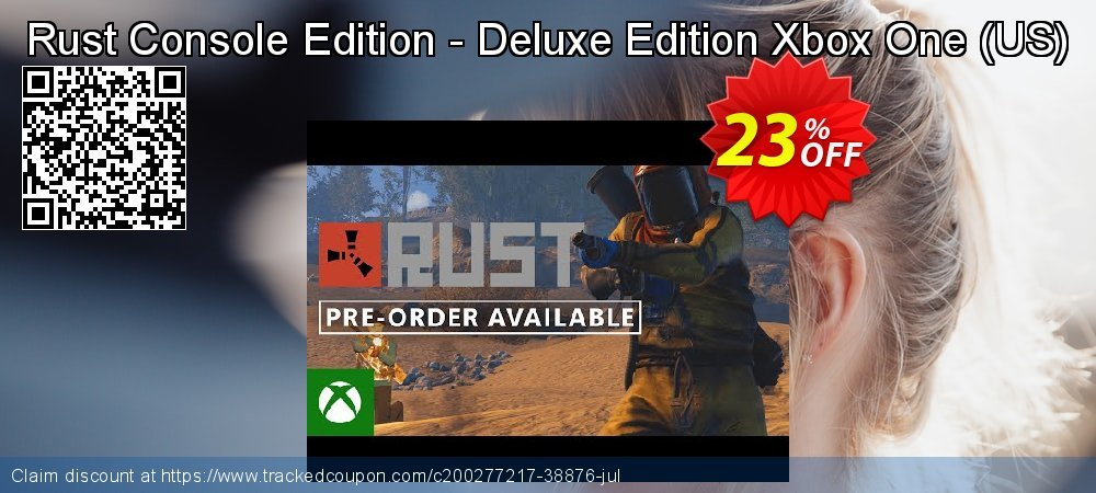 Rust Console Edition - Deluxe Edition Xbox One - US  coupon on Camera Day deals