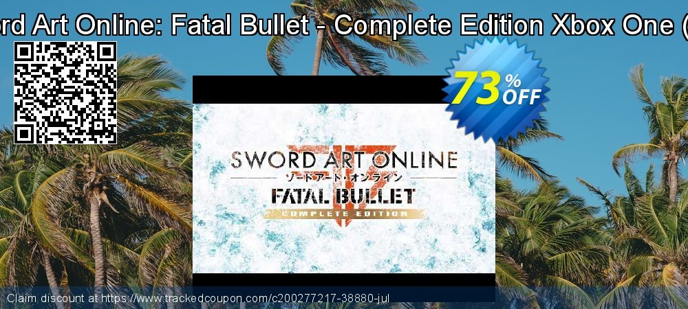 Sword Art Online: Fatal Bullet - Complete Edition Xbox One - UK  coupon on World Bicycle Day offering sales