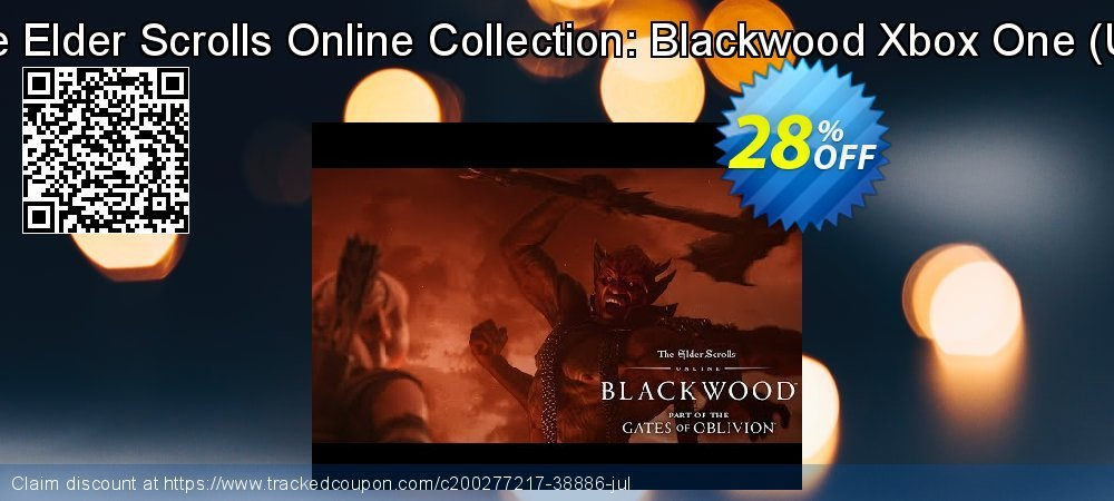 The Elder Scrolls Online Collection: Blackwood Xbox One - UK  coupon on National Kissing Day offer