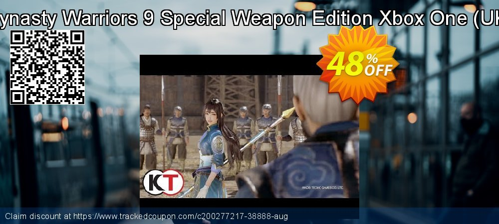 Dynasty Warriors 9 Special Weapon Edition Xbox One - UK  coupon on Hug Holiday offering discount