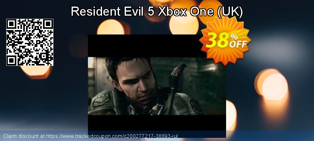 Resident Evil 5 Xbox One - UK  coupon on World Bicycle Day sales