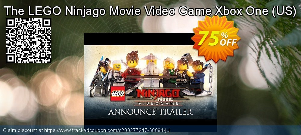 The LEGO Ninjago Movie Video Game Xbox One - US  coupon on World Milk Day deals