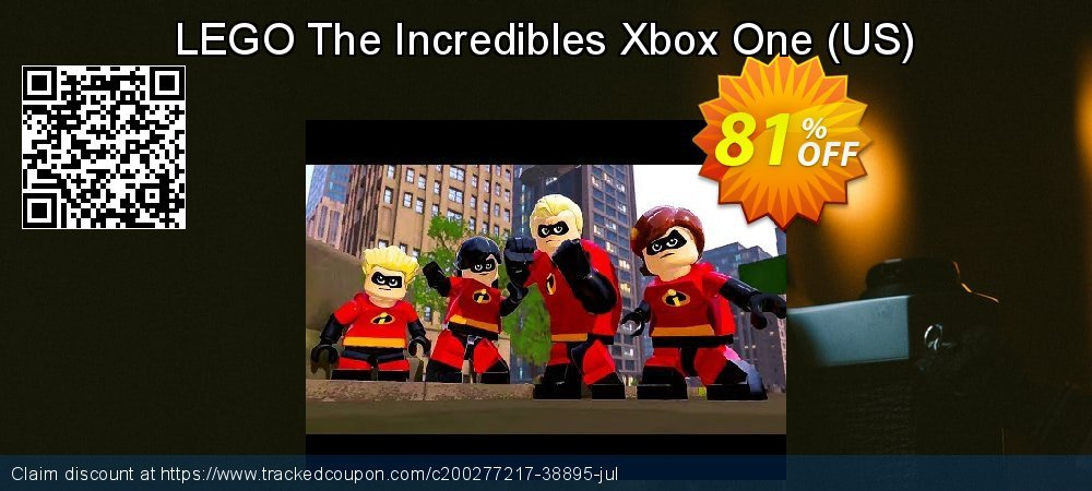 Get 70% OFF LEGO The Incredibles Xbox One (US) sales