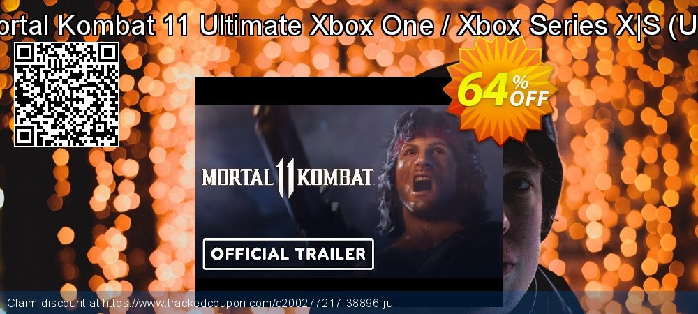 Mortal Kombat 11 Ultimate Xbox One / Xbox Series X|S - US  coupon on World Bicycle Day discount