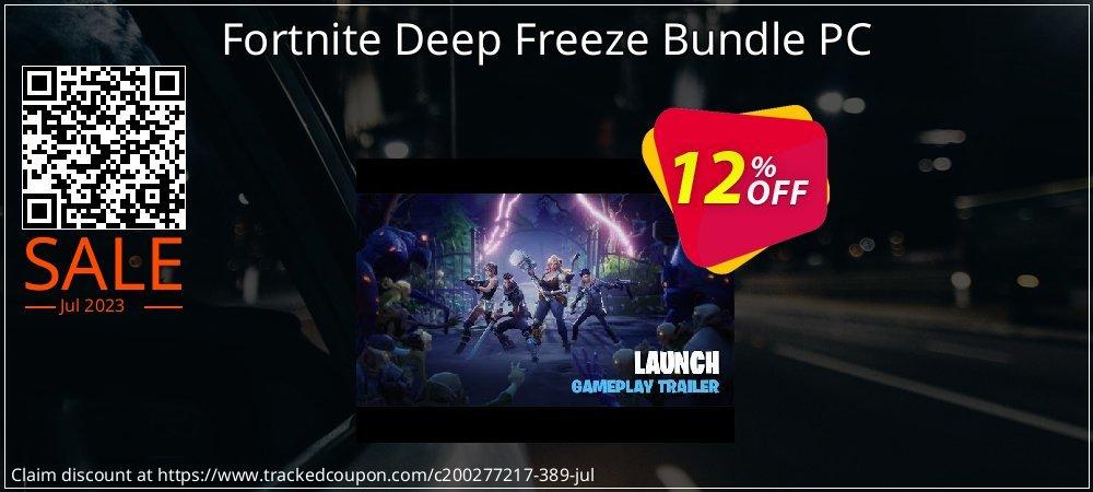 Fortnite Deep Freeze Bundle PC coupon on Halloween offer
