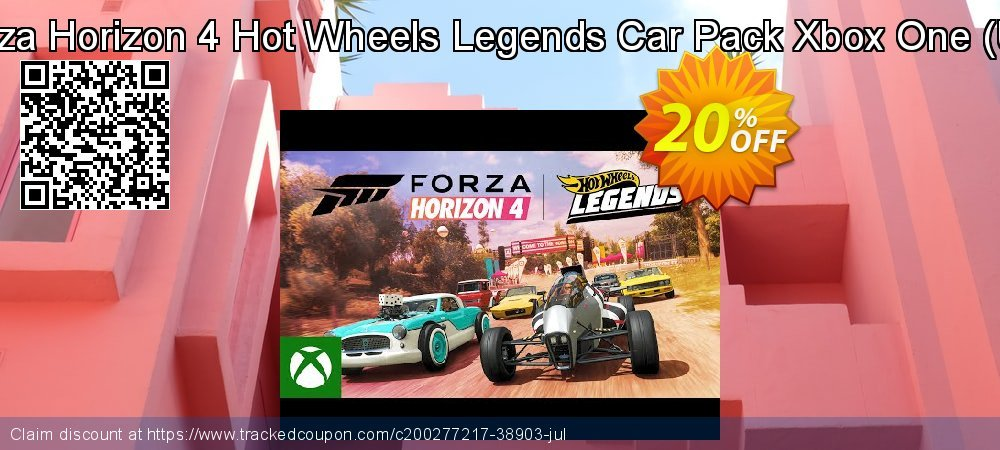 Forza Horizon 4 Hot Wheels Legends Car Pack Xbox One - UK  coupon on Summer deals