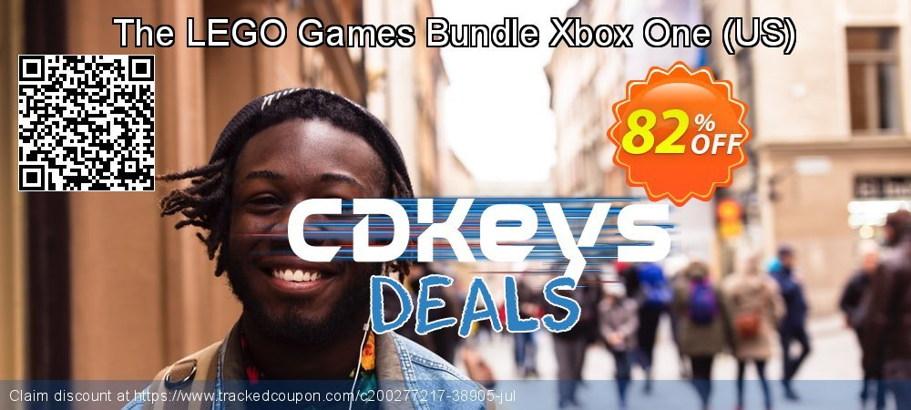 The LEGO Games Bundle Xbox One - US  coupon on National Cheese Day discount