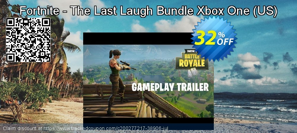 Fortnite - The Last Laugh Bundle Xbox One - US  coupon on World Bicycle Day offering discount