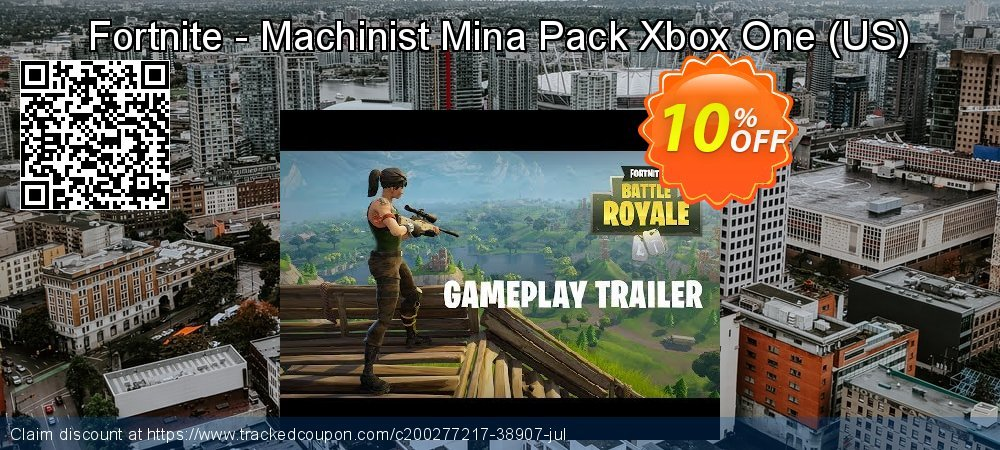 Fortnite - Machinist Mina Pack Xbox One - US  coupon on World Milk Day offering sales