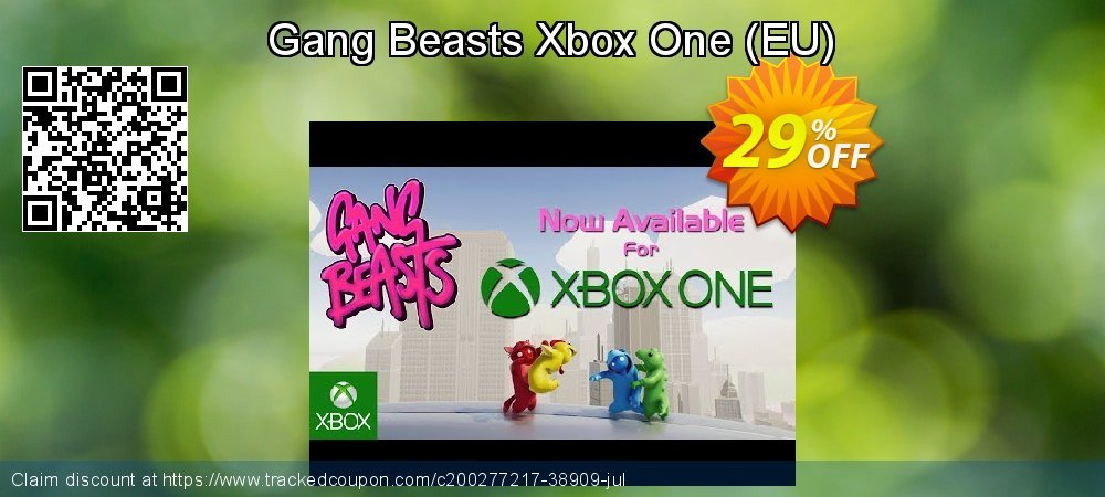Gang Beasts Xbox One - EU  coupon on World Bicycle Day discounts